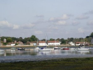Looking back towards Langstone from the northern shore of Hayling Island