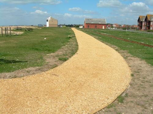 The path to the coastguard station